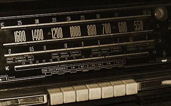 Close-up radio-cassete