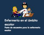 Logo enfermería en el ámbito escolar